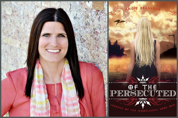 Meet Angie Brashear, featured YA author.