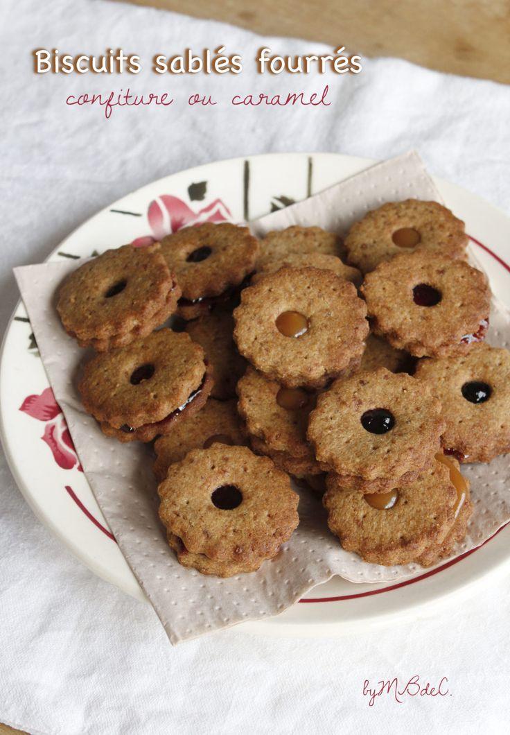 """Biscuits sablés fourrés, la saison des """"bredele"""" est lancée ! – Mes brouillons de cuisine"""