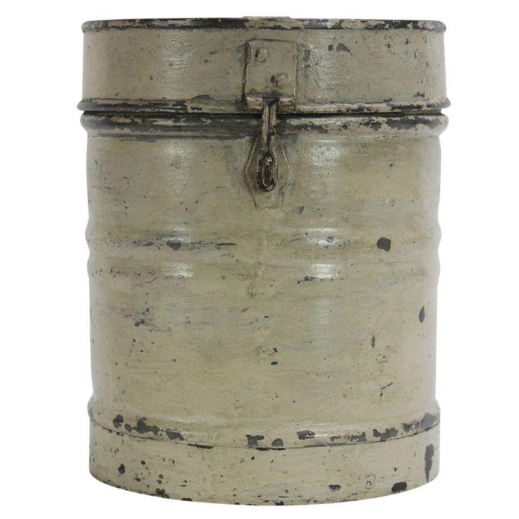Cream Grain Storage Container