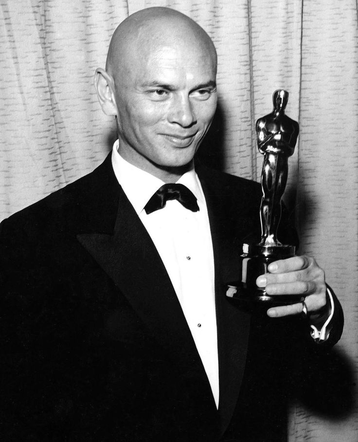 Yul Brynner for The King and I in 1956