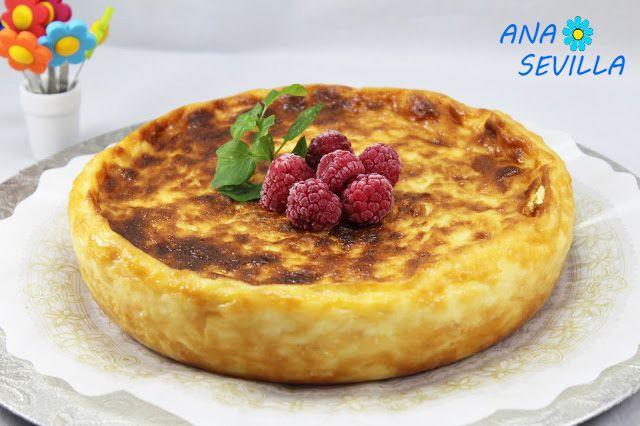 Tarta de queso La Viña thermomix, tarta de queso La Viña tradicional, Tarta de queso la Viña olla gm