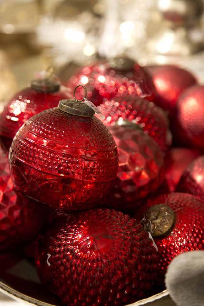 Rote Glaskugeln #Weihnachten #weihnachtsmarkt