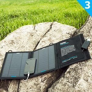 Anker 21W 2-Port USB Portable Solar Charger  Introducing The Power Series by Anker. America's Leading USB Charging Brand. Faster and Safer Charging With Our Advanced Technology. http://portablesolarmart.com/shop/portable-solar-charger/usb-portable-solar-charger/   10 Million+ Happy Users and Counting!