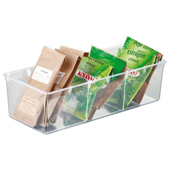 Pojemnik do przechowywania torebek z ziołami 29x13cm