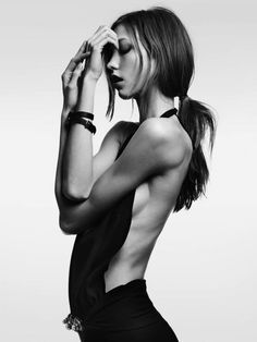 ☆ Karlie Kloss | Photography by Hedi Slimane | For Vogue Magazine Japan | February 2012 ☆ #Karlie_Kloss #Hedi_Slimane #Vogue #2012
