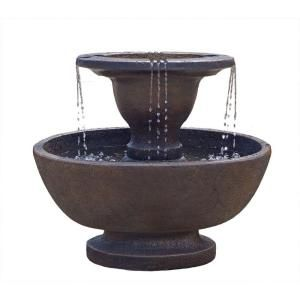 2 Tier Alfresco Fountain 5701fbxs At The Home Depot