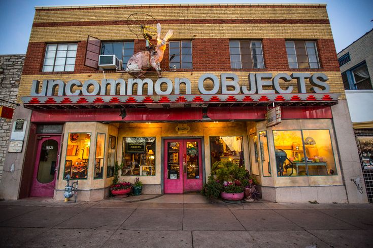 Uncommon Objects | Austin, Texas | Really great, fun shop. Absolutely overwhelming how much STUFF is inside this place. You could browse for hours.