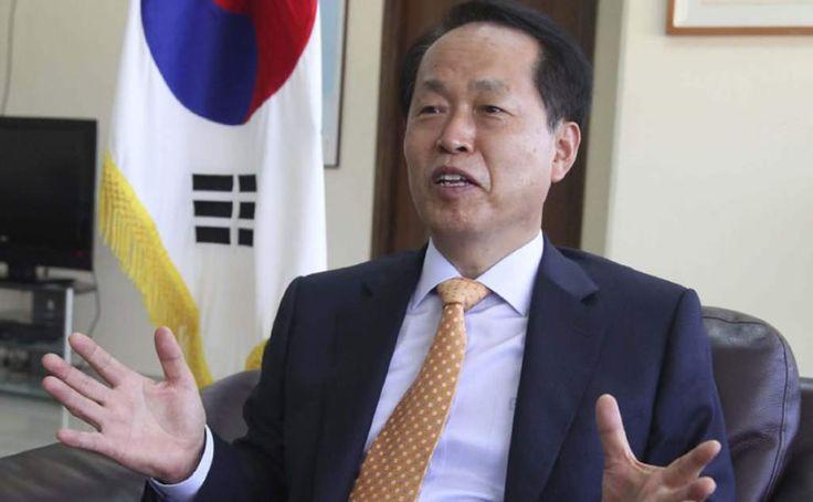 """Rai-Hyug Kim, embajador de la República de Corea en Honduras. """"El café y las frutas destacarán en TLC con Corea del Sur"""" El embajador de la República de Corea en Honduras dice que toda Centroamérica tendrá oportunidades."""