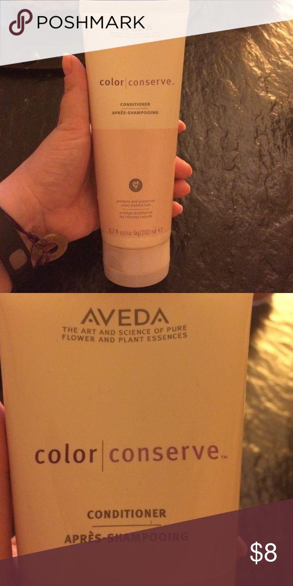 Aveda color conserve conditioner Slightly more than half of Aveda Color Conserve conditioner. Aveda Makeup