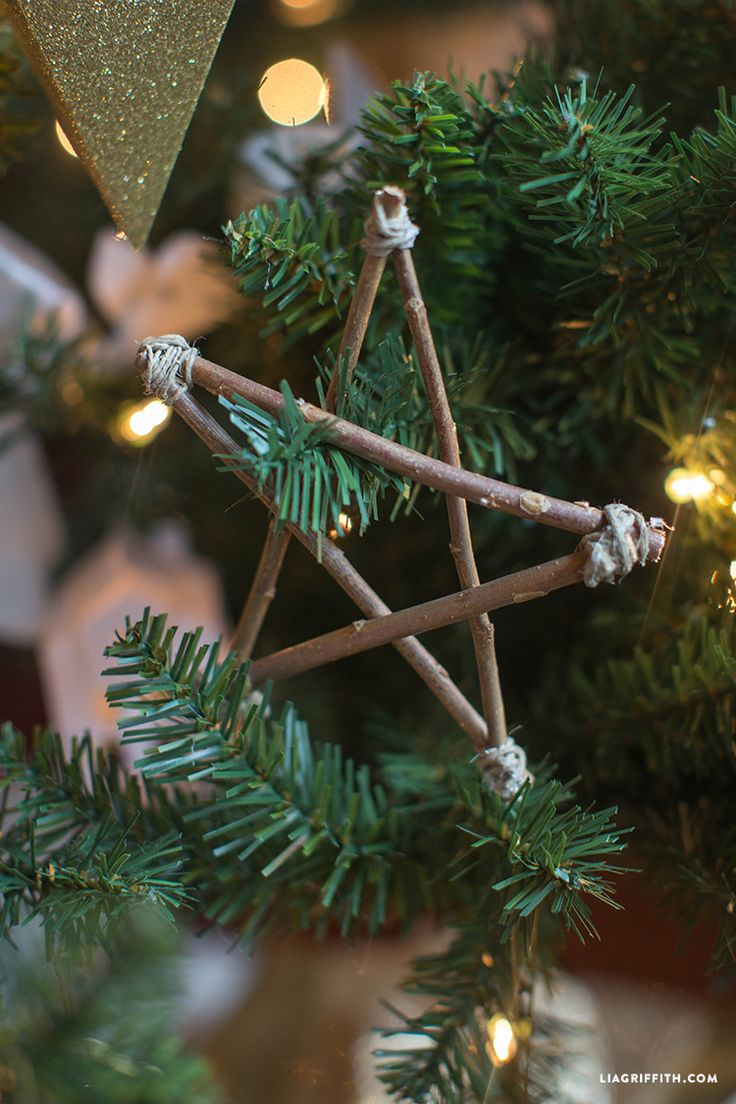 Twig Star DIY Christmas Ornament MichaelsMakers Lia Griffith