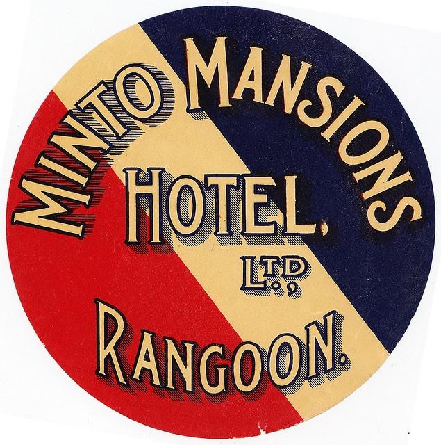 Birmania - Rangoon - Minto Mansions Hotel