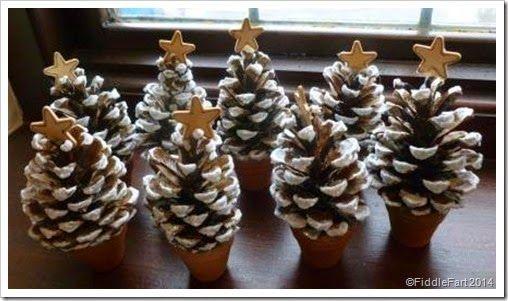 fir cone Christmas Trees
