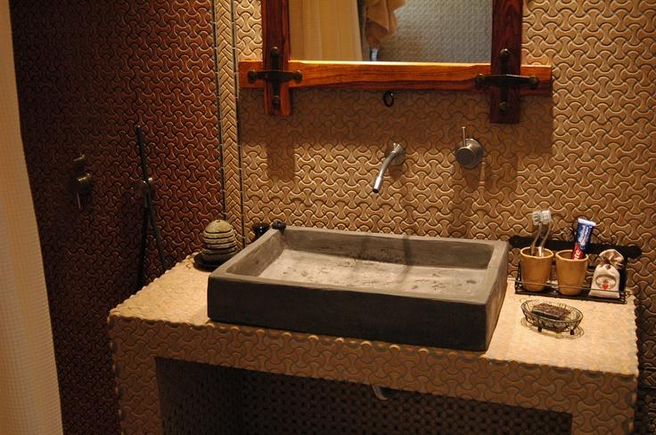my new bathroom at Pelion Mountain (Greece)