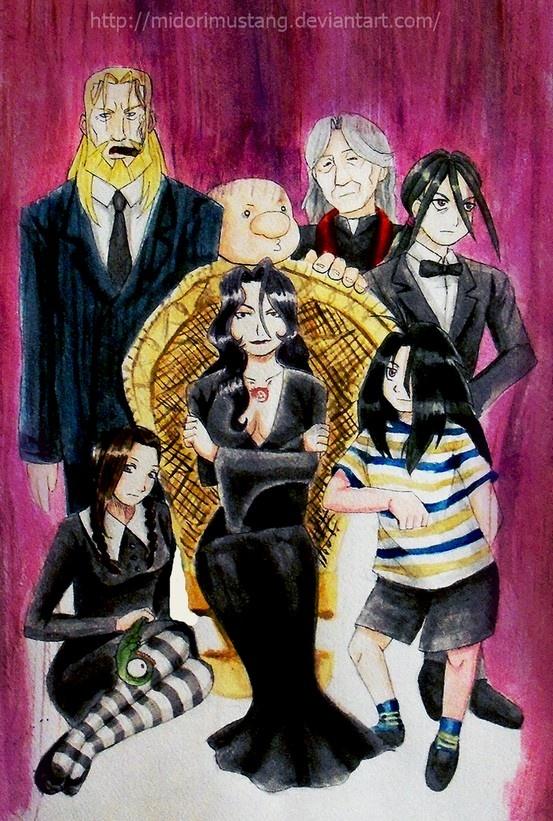 Fullmetal Alchemist meets Addams Family. #Wrath #FMA #Fullmetal #Alchemist…