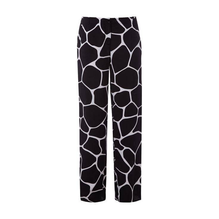 #Armani #Jeans #Stoffhose mit #stilisiertem #Giraffenmuster für #Damen - Damen…