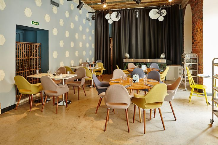 Гастробар «Ломбард» #lombard #gastrobar #interior #ginza #ginzaproject #restaurant