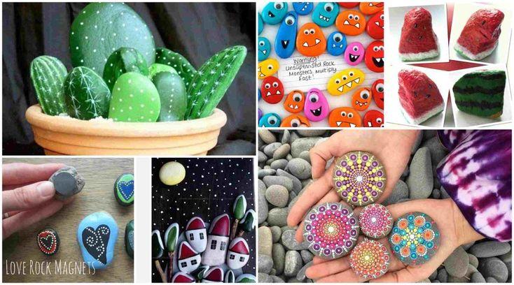 10 πρωτότυπες ιδέες τέχνης με πέτρες και βότσαλα | SunnyDay