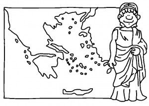 free ancient greece coloring pages - photo#12
