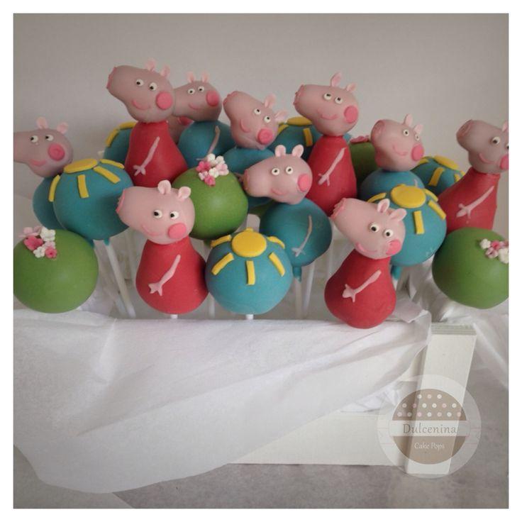 Cake Pops Peppa Pig