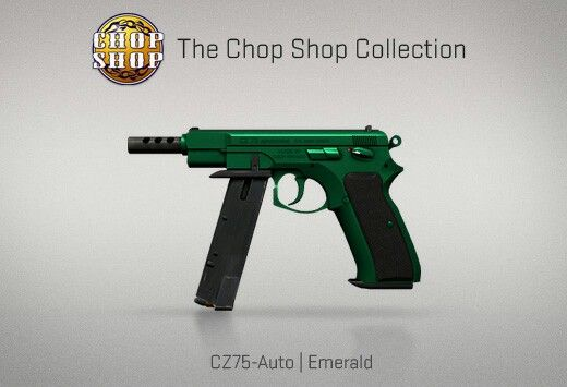 Counter-Strike Global Offensive: The Chop Shop Collection: CZ75-Auto Emerald