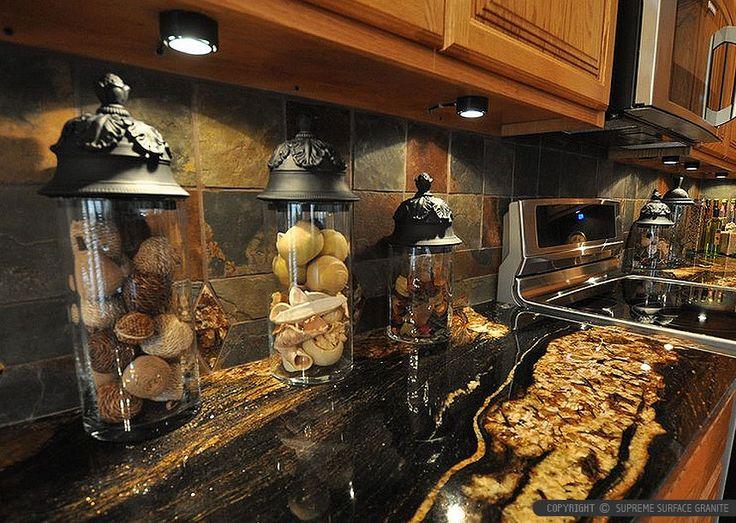 Slate Kitchen Countertop Ideas