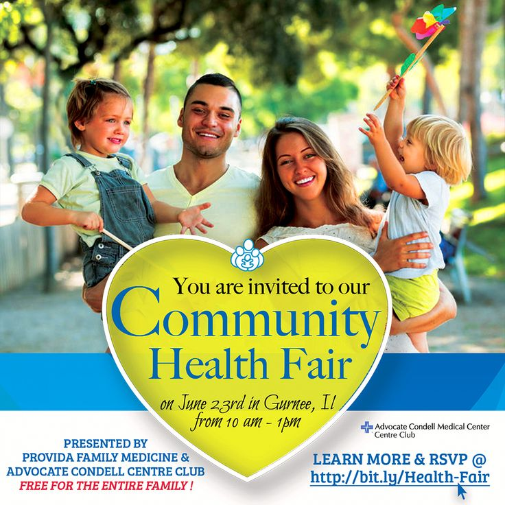 Thank you for attending our Community Health Fair