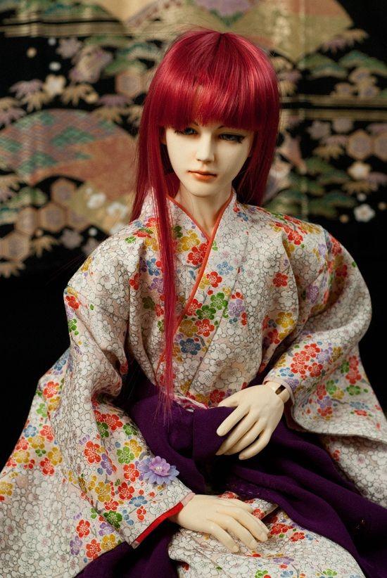 BJD Sokuto, Japanese Beauty by InarisansCrafts
