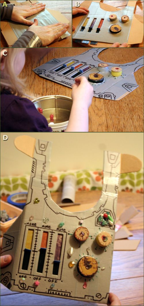 Creative ideas for you: Recycled Robot Costume