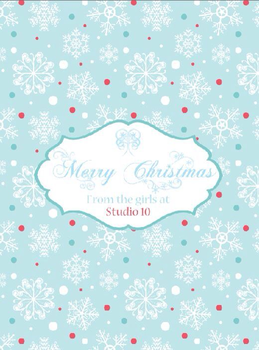 Snowflake customised Chocolate wrapper printables by MillyBoo Designs