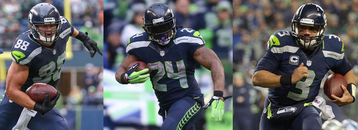 Seahawks Roll Out The Big Fantasy Three For 2015 | Seattle Seahawks