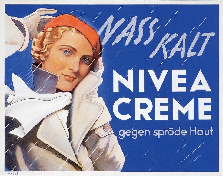 nivea retroanzeige 1935 nivea retro repinned by www. Black Bedroom Furniture Sets. Home Design Ideas