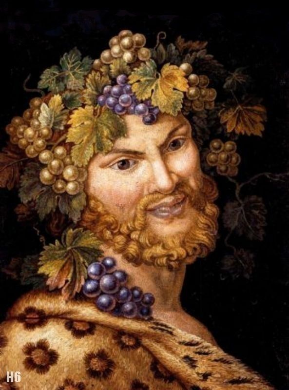 Bacchus. 1850. Michelangelo Maestri. Italian. 1779-1812. oil on canvas. http://hadrian6.tumblr.com
