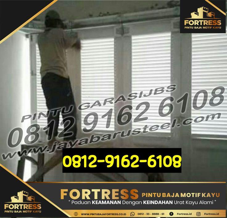 0812 9162 6109 FORTRESS pintu lipat garasi mobil pintu