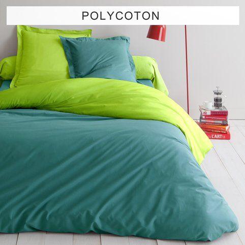 Housse de couette bicolore polycoton TERTIO® - 3Suisses