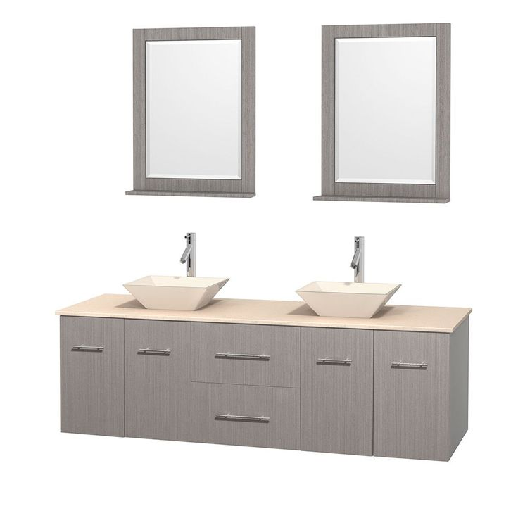 Wyndham Collection Centra Grey Oak 72 inch Double Ivory Marble Bathroom  Vanity with Mirrors 72 GreyMirror Size For Vanity  MirrorCalabria  Standard Mirror Size For  . Mirror Size For 36 Vanity. Home Design Ideas