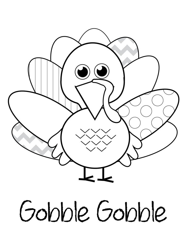 thanksgiving coloring pages for preschool - photo#23