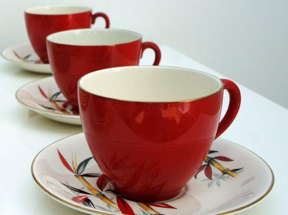 Alfred Meakin 'Bamboo' tea set