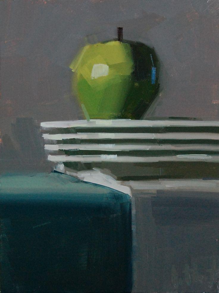 """Aaron Lifferth """"Stacked"""": Drawings Paintings Sketch, Life Paintings, Lifferth Stacking, Artists Worth, Art Inspiration, Art Class, Aaron Lifferth, Lifferth Paintings, Apples"""