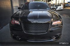 black 2014 Chrysler 300 SRT8 | Modified Photos