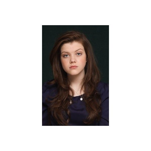 Georgie Henley | Simply Georgie • Georgie-Henley.com Photo Galleries ❤ liked on Polyvore featuring tops, henley top and brown top