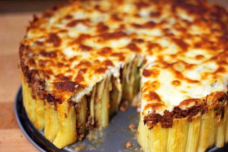 Always.Hungry | Τούρτα Ριγκατόνι με Κιμά στο φούρνο