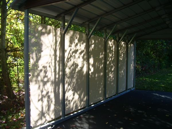 WEATHER BLOCKER by Carports.com - TNT, Metal Carports, Garages, Buildings, RV Covers, Boat Covers, Barns