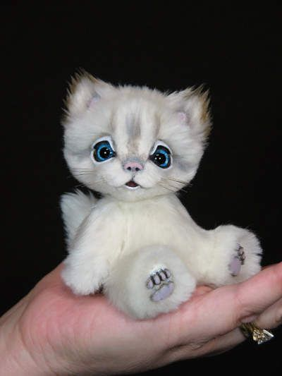 Sophie the Mini Kitty by White Forest Bears