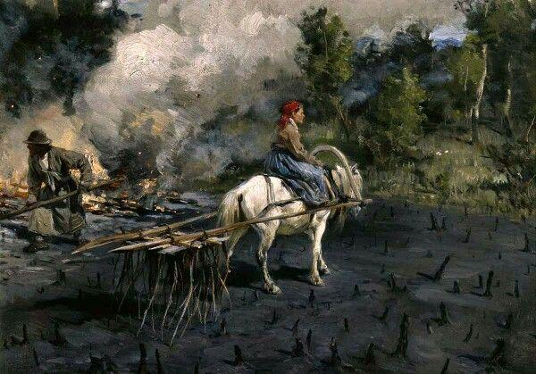 Illarion Pryanishnikov, Soil preparation