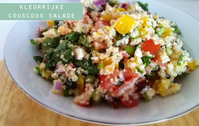 Recept: Couscous salade