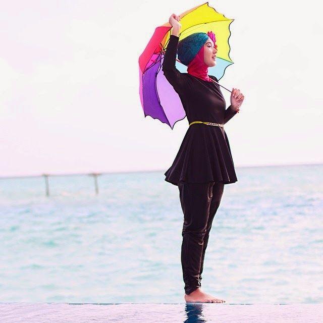 Fashion Anak Medan: Pakaian Wanita Muslimah Untuk Ke Pantai Trendy dan Terbaru