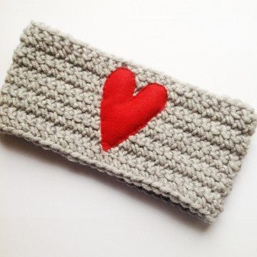 Red Heart #crochet #headband #merino #wool