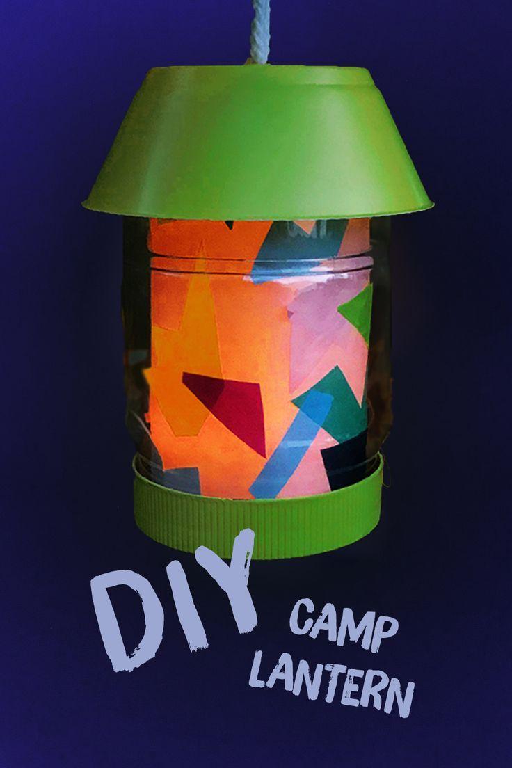 Make: A Kid-Safe Upcycled Camp Lantern