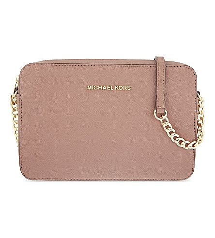MICHAEL MICHAEL KORS Jet Set Travel cross-body bag (Dusty rose