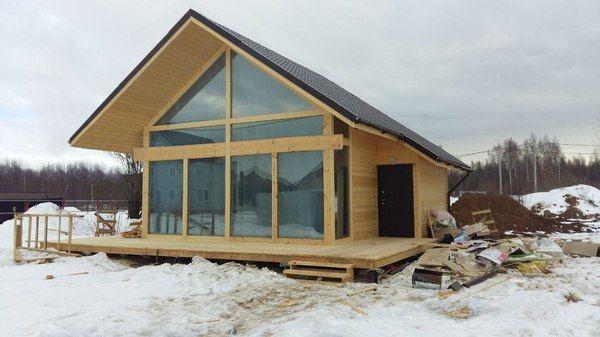 """Дом, который можно построить после прочтения выложенных ранее """"Халявных"""" материалов"""